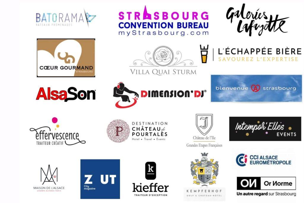 Événementiel : nos partenaires à Strasbourg